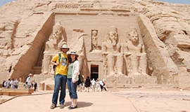 Abu Simbel Temples tour From Aswan by Private Van