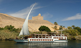 Dahabiya 07 Nights – 08 Days from Luxor to Aswan