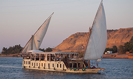 Dahabiya 07 Nights – 08 Days from Aswan to Luxor