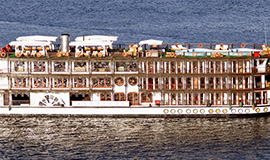 Luxury Egypt steam ship (03 nights Aswan)