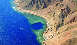 Blue hole and Colored Canyon from Sharm