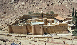 St. Catherine Monastery from Sharm